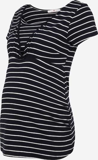 Tricou BELLYBUTTON pe negru / alb, Vizualizare produs