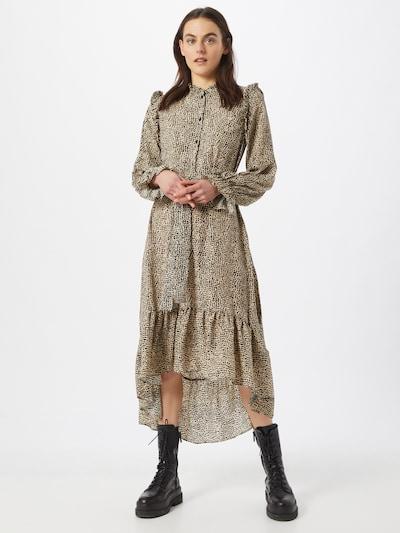Missguided Košeľové šaty - béžová / čierna, Model/-ka