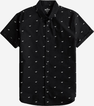 HOLLISTER Camisa en negro / blanco, Vista del producto