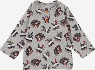 Hust & Claire Camiseta 'Arv' en ocre / gris moteado / verde / mezcla de colores / rojo, Vista del producto