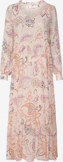 DAY BIRGER ET MIKKELSEN Robe en ivoire / moutarde / taupe / violet foncé / corail, Vue avec produit