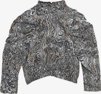 Zibi London Bluse 'Betty' in hellbeige / schwarz / weiß, Produktansicht