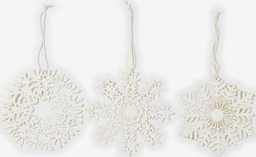 Christmas Goods by Inge Figure/Sculpture 'Schneeflocke' in White
