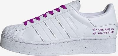 ADIDAS ORIGINALS Sneakers laag 'Superstar Bold' in de kleur Neonlila / Wit, Productweergave