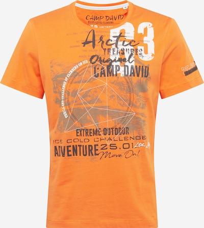 CAMP DAVID Shirt in marine / orange / weiß, Produktansicht