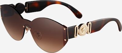 VERSACE Sonnenbrille '0VE2224' in braun / gold / schwarz, Produktansicht