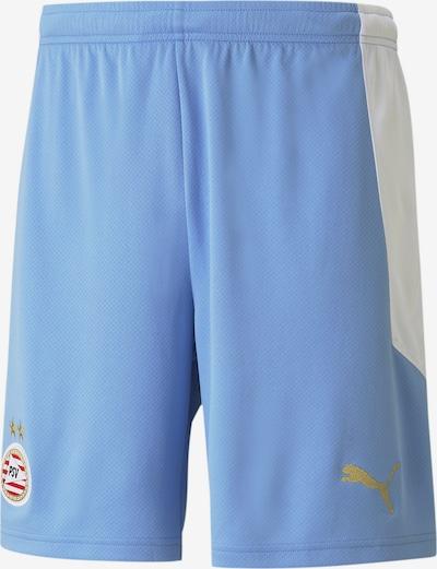 PUMA Shorts 'PSV Eindhoven' in himmelblau / weiß, Produktansicht