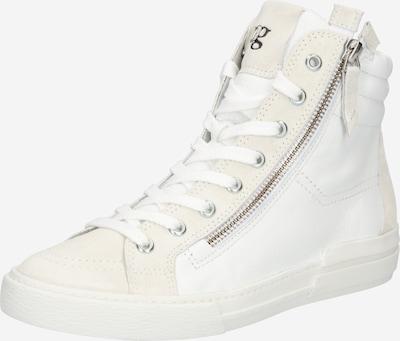 Paul Green Hög sneaker i vit, Produktvy