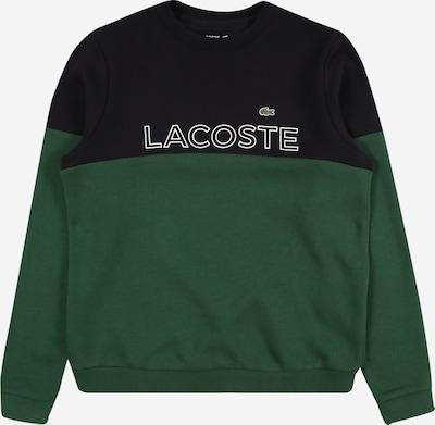 LACOSTE Sweatshirt in grün / schwarz / weiß, Produktansicht