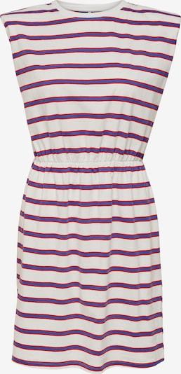 ONLY Kleid 'Jen life' in dunkellila / dunkelrot / weiß, Produktansicht