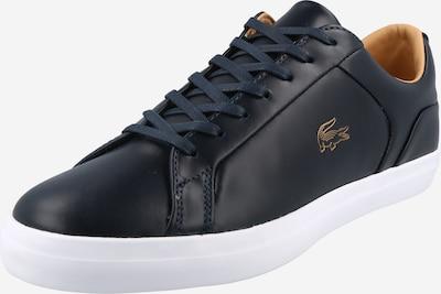LACOSTE Sneaker 'Lerond' in nachtblau / gold / orange, Produktansicht