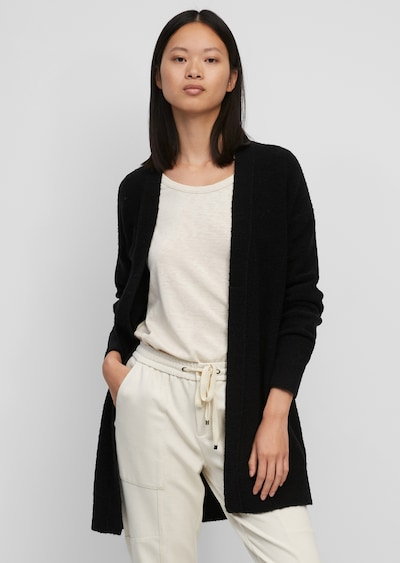 Marc O'Polo Knit Cardigan in Black, View model