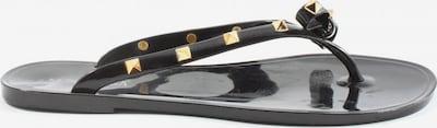 SUPERGA Badeslipper in 40 in gold / schwarz, Produktansicht