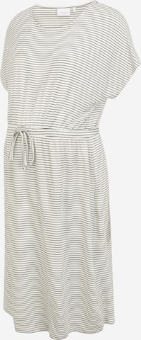 Mamalicious Curve Dress 'ALISON' in White