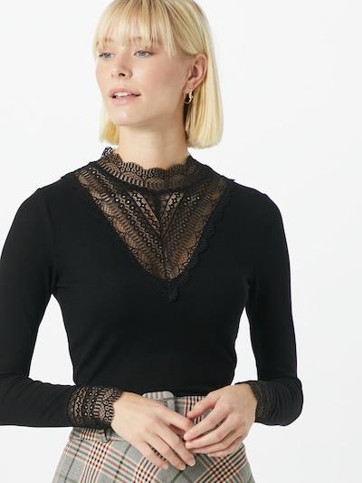 ONLY Shirt 'Tilde' in schwarz: Frontalansicht