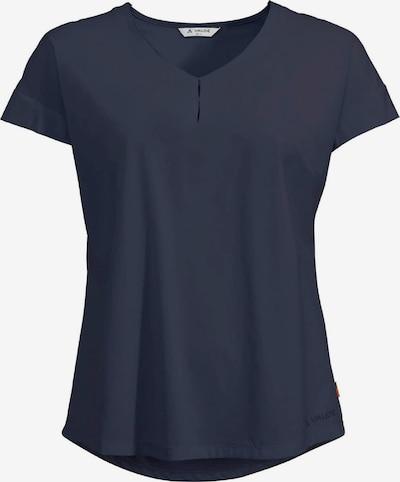 VAUDE T-Shirt ' Wo Skomer V-Neck ' in blau, Produktansicht