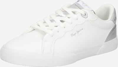 Sneaker low 'KENTON SUPRA' Pepe Jeans pe argintiu / alb, Vizualizare produs