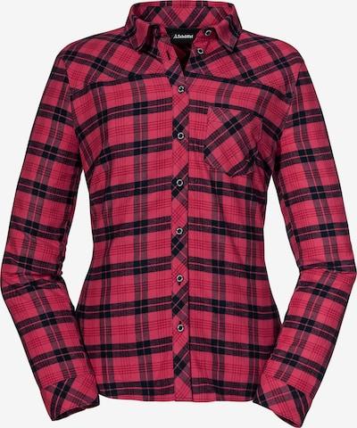 Schöffel Athletic Button Up Shirt 'Condoriri' in Navy / Light red, Item view