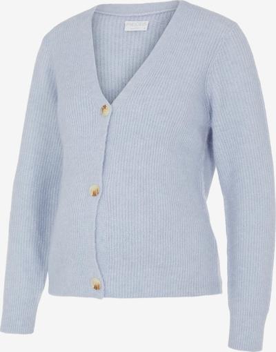 Pieces Maternity Gebreid vest 'Ellen' in de kleur Smoky blue, Productweergave