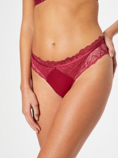 ESOTIQ Bikinibroek in de kleur Rood, Modelweergave