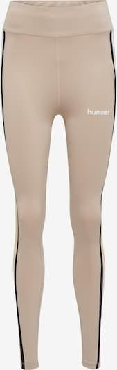 Hummel Leggings 'Camilla' in pastellgelb / puder / pastellpink / schwarz / weiß, Produktansicht
