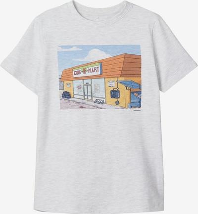NAME IT T-Shirt in hellgrau, Produktansicht