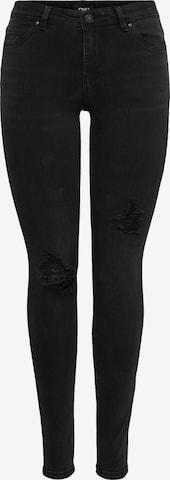ONLY Jeans 'WAUW' in Zwart