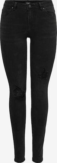 ONLY Jeans 'WAUW' i black denim, Produktvisning