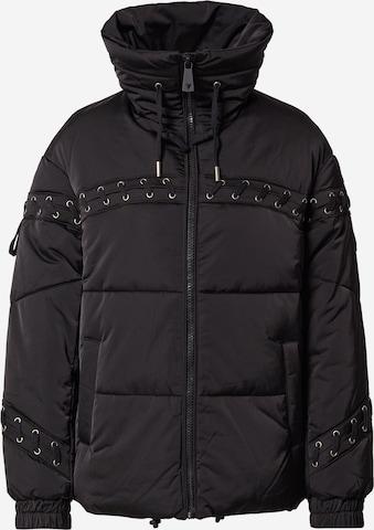 GUESS Between-Season Jacket in Black