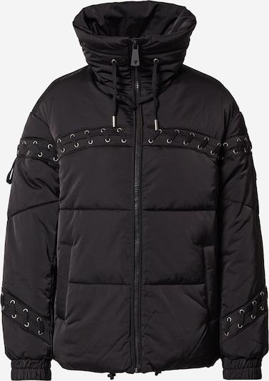 GUESS Φθινοπωρινό και ανοιξιάτικο μπουφάν σε μαύρο, Άποψη προϊόντος