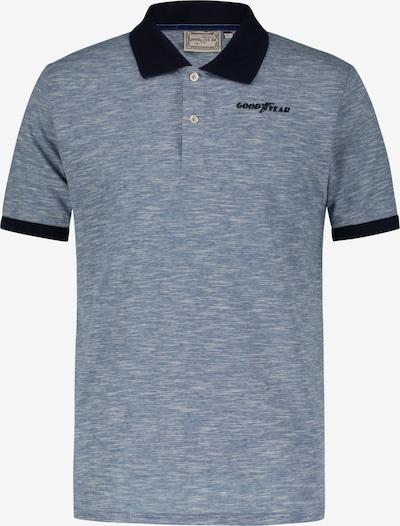 GOODYEAR Poloshirt 'PALM BAY' in dunkelblau / blaumeliert, Produktansicht