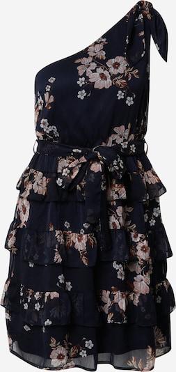VERO MODA Robe 'CAMILLE' en marine / bleu clair / rose ancienne, Vue avec produit