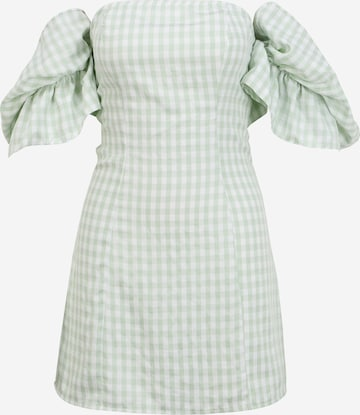 Missguided Petite - Vestido de verano en verde