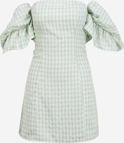 Missguided Petite Kleid in mint / weiß, Produktansicht