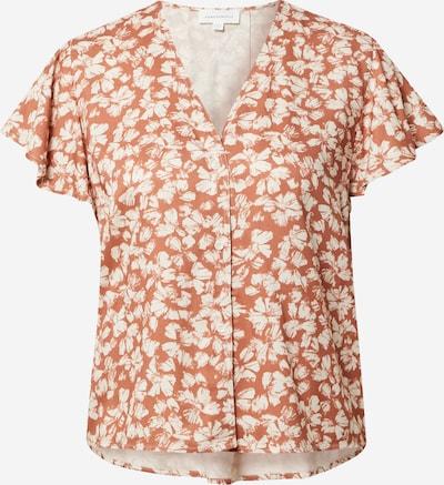 Bluză ARMEDANGELS pe portocaliu închis / alb, Vizualizare produs