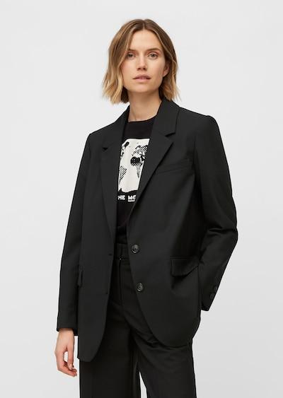 Marc O'Polo Blazer in schwarz, Modelansicht