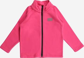 Jachetă  fleece 'SINCLAIR 703' de la LEGO WEAR pe roz