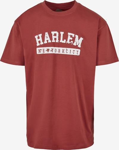 SOUTHPOLE T-Shirt in pastellrot / weiß, Produktansicht