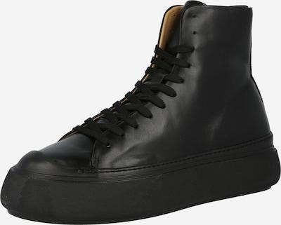 Sneaker înalt Tiger of Sweden pe negru, Vizualizare produs