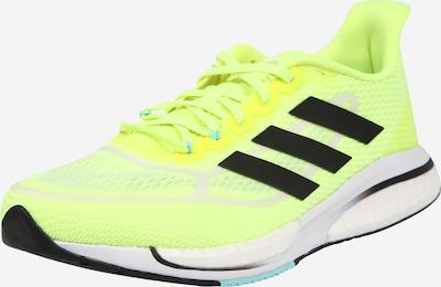 ADIDAS PERFORMANCE Zapatillas de running 'SUPERNOVA' en amarillo neón / negro / plata, Vista del producto