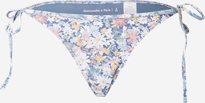 Abercrombie & Fitch Bikinibroek in de kleur Smoky blue / Lichtblauw / Lichtgeel / Rosé / Wit: Vooraanzicht