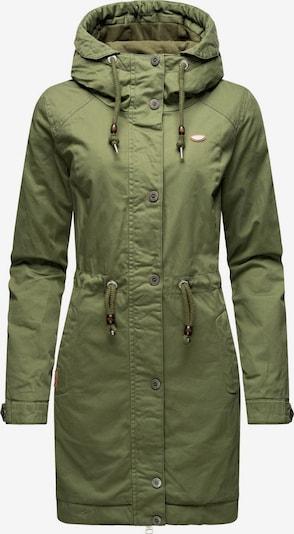 Ragwear Winterparka ' Aurorie ' in oliv, Produktansicht