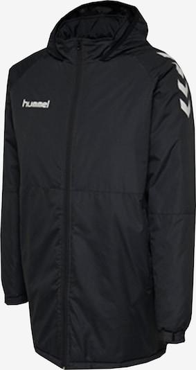 Hummel Jacke in schwarz / weiß, Produktansicht