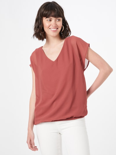 ABOUT YOU Blouse 'Rose' in de kleur Roestbruin, Modelweergave