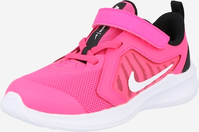 NIKE Sports shoe 'Downshifter 10' in Pink / Black / White, Item view