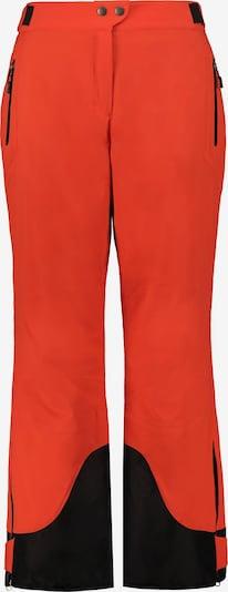 Ulla Popken Skihose in orange, Produktansicht