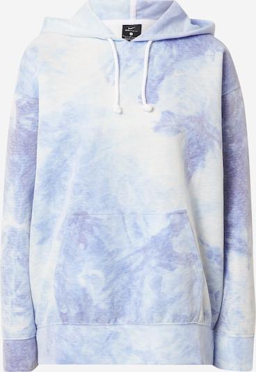 NIKE Sportsweatshirt i blå / lyseblå, Produktvisning