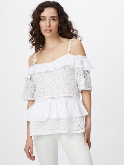 GUESS Bluzka 'NEW OLIMPIA' w kolorze białym, Podgląd na modelu(-ce)