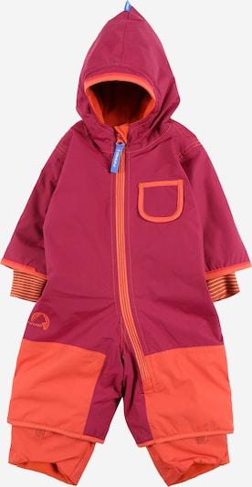 FINKID Функционален костюм 'Pikku' в тъмнорозово / светлочервено, Преглед на продукта