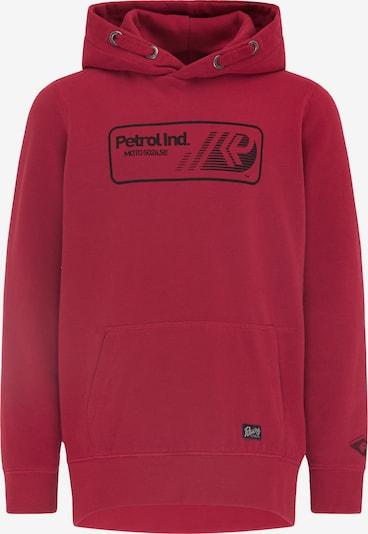 Petrol Industries Bluza w kolorze pastelowa czerwień / czarnym, Podgląd produktu